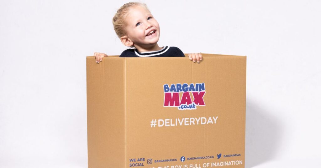 You can now buy an empty cardboard box for your child this Christmas