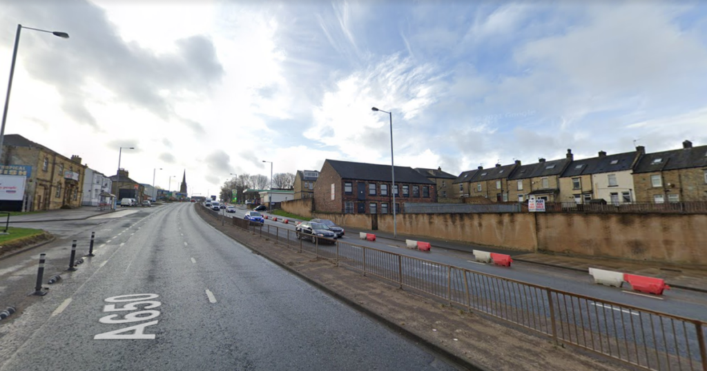 Live as Wakefield Road Bradford reopen after child hit by van and air ambulance lands